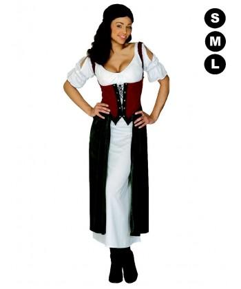 Déguisement médiévale femme