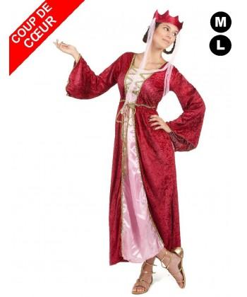 Déguisement femme du Moyen-âge