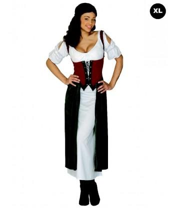 Déguisement médiévale grande taille femme