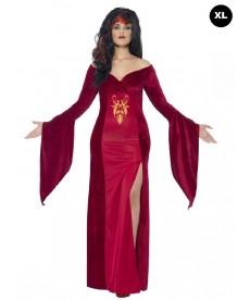 Déguisement médiévale femme XL