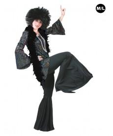 Déguisement Disco pantalon noir