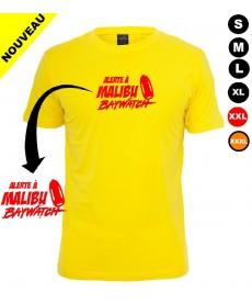 Tee shirt Alerte à Malibu