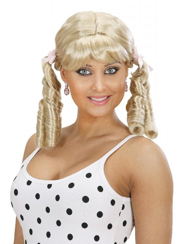 perruque femme années 60
