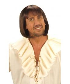perruque homme médiéval