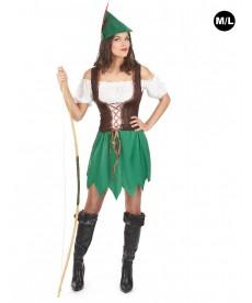 déguisement robin de bois femme