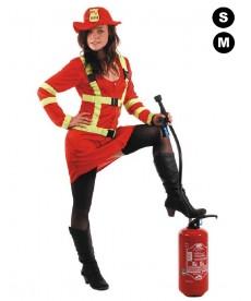 Costume de pompier FEMME