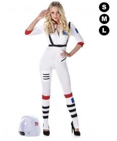 Déguisement d'astronaute femme