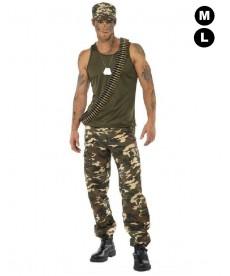 Déguisement militaire Homme - Section GI