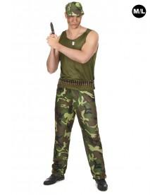 Déguisement de jeune militaire