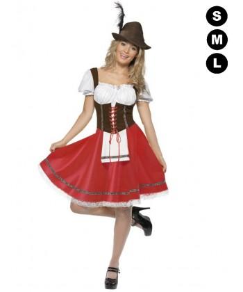 Costume de bavaroise femme