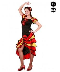 Déguisement femme de danseuse flamenco