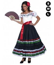 Déguisement de Seniora Mexicana