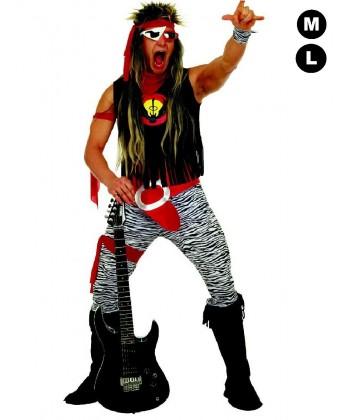 Déguisement de Rock star des années 80