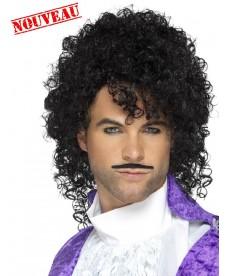 Perruque Prince + moustache