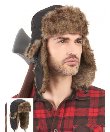 chapeau bucheron canadien