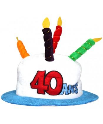 chapeau 40ans