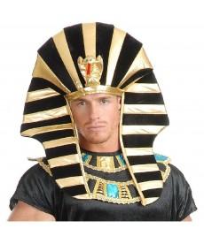Coiffe chapeau de pharaon