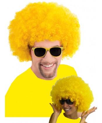 Perruque jaune Brice ou Alice - Fiesta And