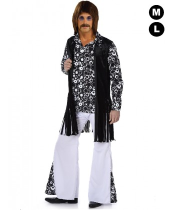 Déguisement homme hippie