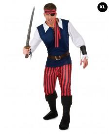 Déguisement de pirate des mers
