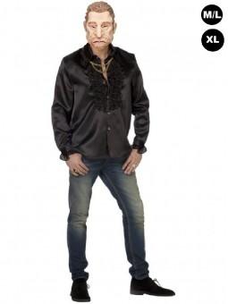 Déguisement Johnny Hallyday la chemise