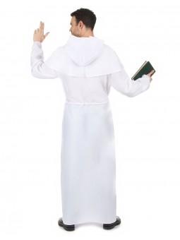 déguisement de moine blanc