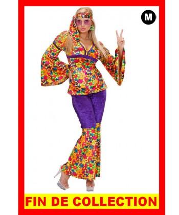 Déguisement de femme hippie