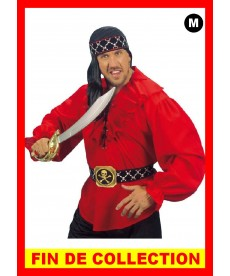 Chemise Pirate rouge