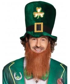 Chapeau St Patrick + barbe