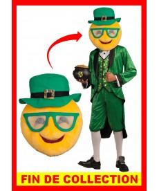 Tête mascotte de Saint Patrick