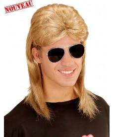 Perruque mulet années 80