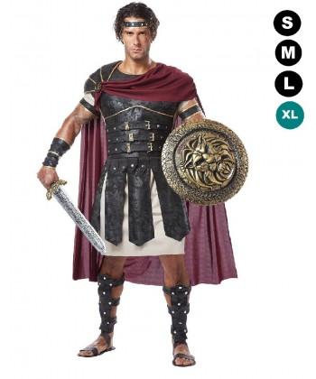 Déguisement de gladiateur romain (LUXE)