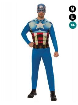 Déguisement de Captain America (LUXE)
