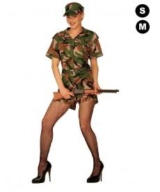 Déguisement de militaire Femme - G-I Jane