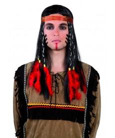 Perruque d'indien comanche