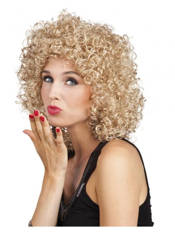 Perruque femme années 80