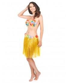Jupe hawai jaune