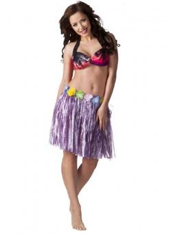 Jupe hawai violette