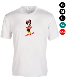tee shirt minnie