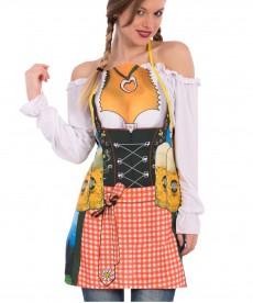 tablier déguisement de bavaroise