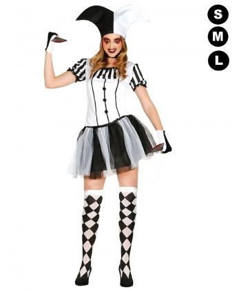Déguisement arlequin femme halloween