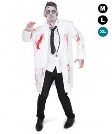 Déguisement de zombie docteur