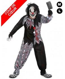 déguisement méchant clown halloween