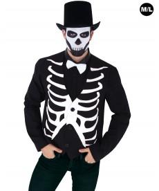 gilet halloween squelette