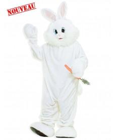 mascotte de lapin géante