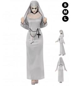 Déguisment religieuse zombie