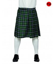 Kilt écossais vert