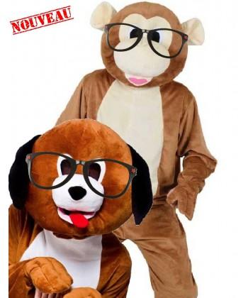 lunettes pour mascotte