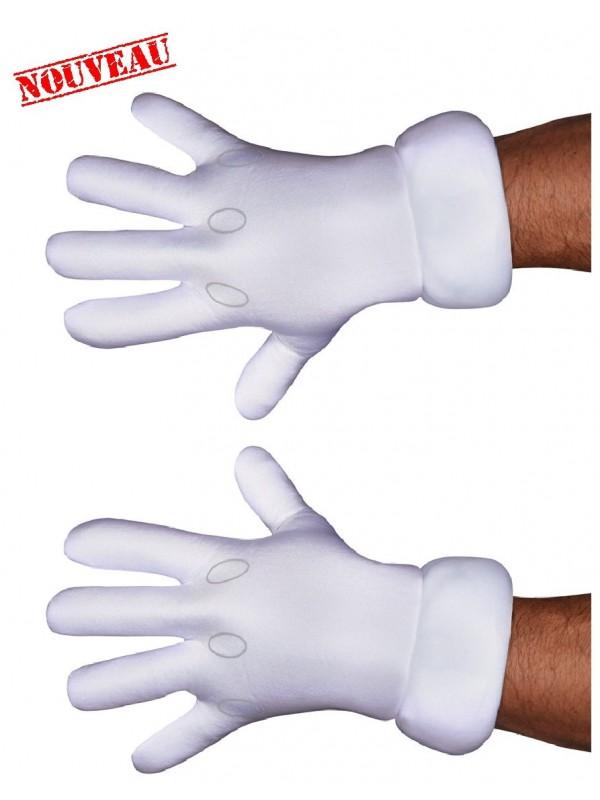 gants rembourés pour mascotte