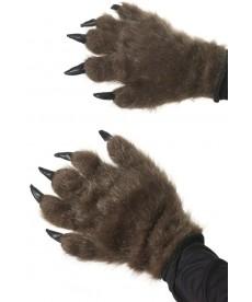 gants de mascotte ours